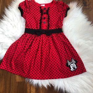 Disney Minnie Mouse Dress, girls size  4